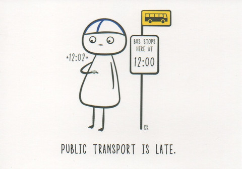 Finnish nightmares - Public transport is late
