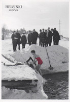 Helsinki stories - Ice swimmer
