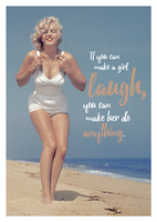 Marilyn - If you can make a girl laugh