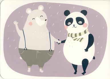 Nalle ja panda