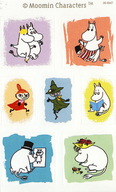 Moomin-stickers (3 sheets) #16