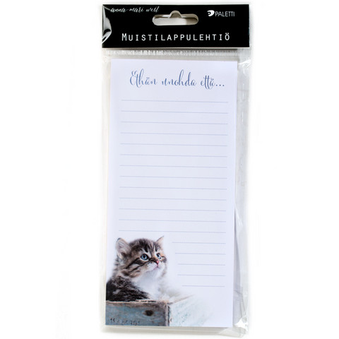 Don't forget to... - magnetic notepaper pad