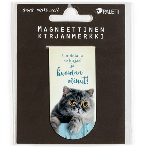 Cat (magnetic bookmark)