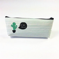 Cactus - pencil case #1