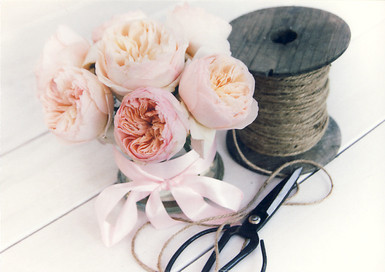 Flowers and twine