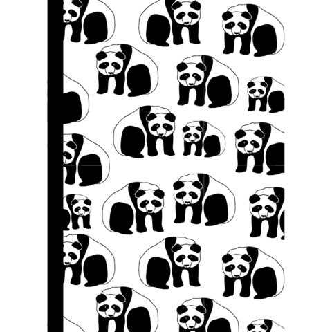 Muumuru - Panda -notebook (A5)