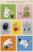 Moomin-stickers (3 sheets) #18