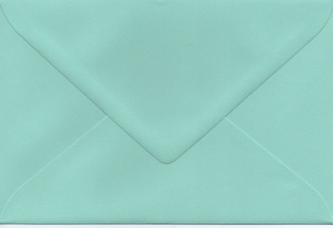 Solid color envelope 12.5x18.5cm - mint