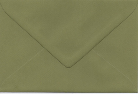 Solid color envelope 12.5x18.5cm - green