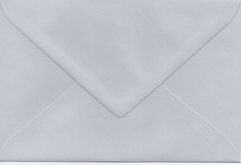Solid color envelope 12.5x18.5cm - light gray