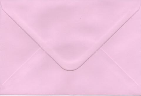 Yksivärinen kirjekuori 12.5x18.5cm - vaaleanpunainen