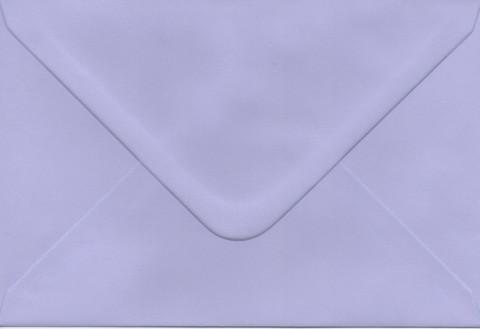 Yksivärinen kirjekuori 12.5x18.5cm - vaaleanvioletti
