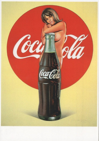 Coca-Cola -tyttö
