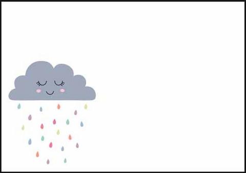 Rain - envelope (C6) #2