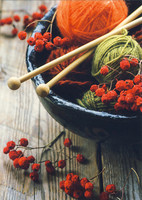 Yarns and berries