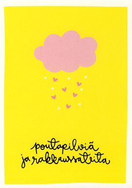 Cumulus clouds and love rains