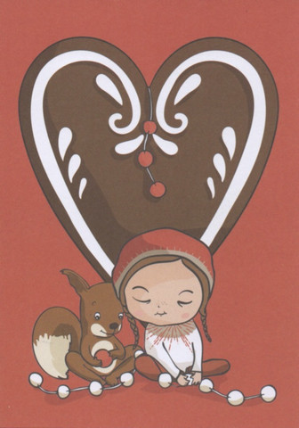Christmas card - Gingerbread