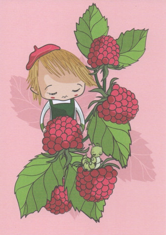 Satukortit - Raspberry
