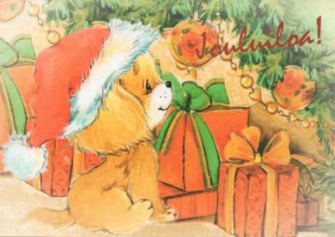 Joulukortti - Lemmikit #1