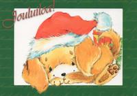 Christmas postcard - Pets #5