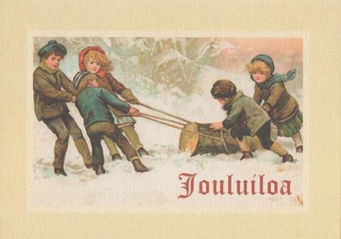 Joulukortti - Nostalgia #6