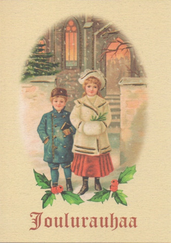 Joulukortti - Nostalgia #8