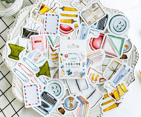 Sticker box - Office supplies (46 stickers)