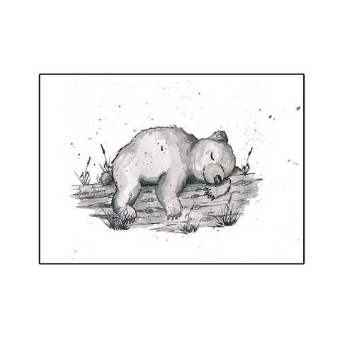 Forest animals - Bear