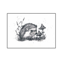 Forest animals - Hedgehog