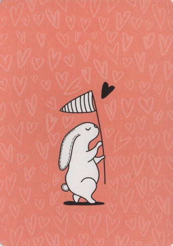 Rabbit catching heart