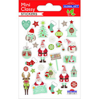 Christamas - mini sticker sheet #1