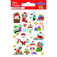 Christamas - mini sticker sheet #3