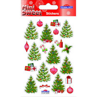 Christamas trees - sticker sheet