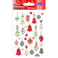 Christamas decorations - sticker sheet