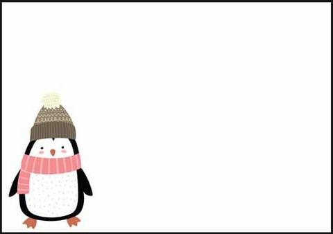 Pingviini - kirjekuori (C6) #1