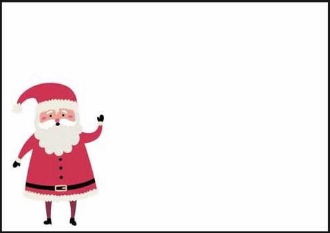 Joulupukki - kirjekuori (C6) #1