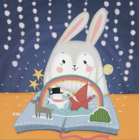 Bunny and Christmas book