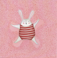 Candy cane bunny