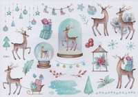 Christmas - sticker sheet #5 (one big sheet, needs to cut)