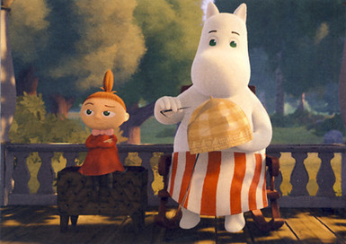 Little My and Moominmamma