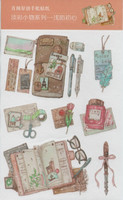 Stationery - sticker sheet (10.5x17cm)
