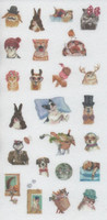 Animals - sticker sheet (10x15cm) #1