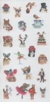 Animals - sticker sheet (10x15cm) #2