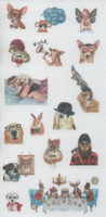 Animals - sticker sheet (10x15cm) #3