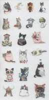 Animals - sticker sheet (10x15cm) #4