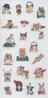 Animals - sticker sheet (10x15cm) #6