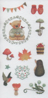 Animals - sticker sheet (10x15cm) #10