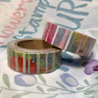 Washi tape - Stripes (1.5cm x 10m)