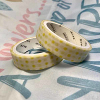 Washi tape - Yellow-green (0.9cm x 3m) #1