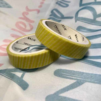 Washi tape - Yellow-green (0.9cm x 3m) #2